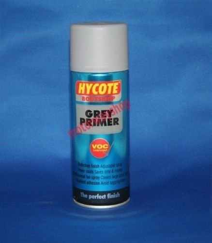 Grey Primer Spray Paint Bodyshop Quality Hycote 400ml